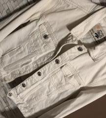 Zara bijela traper jakna