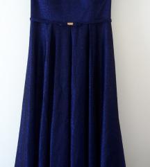 Predivna plus size svecana haljina 48/50