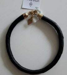 NOVA kožna ogrlica