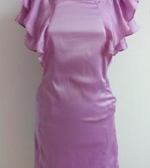 Mini haljina volani VILA  34 36