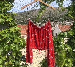 OffShoulders Crvena Majica