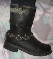 Čizme bikerice vel. 40 (gazište 26 cm)