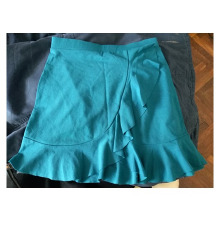Poklanjam: nova mini suknja tirkizna vel. S