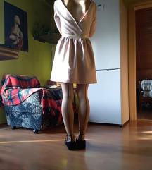 Svijetloroza Zara haljina