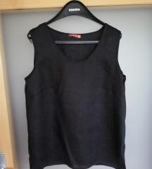 Lanena crna bluza 42