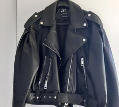 Zara kožna jakna xl