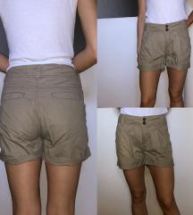 H&M kratke safari hlačice (pt uklj)