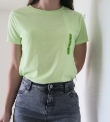 Neonsko zelena nova majica