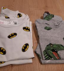 HM lot 2 pidžamice dugi rukav