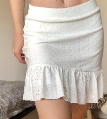 Suknja s volanom