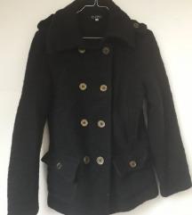 Crni kaput štof 38