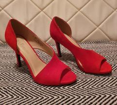 NOVE Crvene sandale na petu, vel. 38