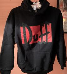 Crna hoodie print Duff Simpsons