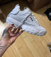 FILA Disruptor White