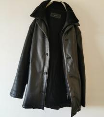 Topla muška kožna jakna