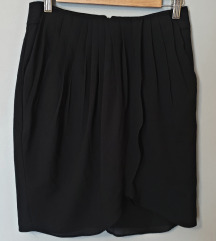 Mango suit crna tulip suknja REZ.