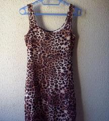 NOVA leopard haljina H&M