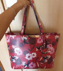 Guess cvjetna shopper torba %