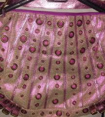 SNIŽENO 50 kn - Sjajna ružičasta torba