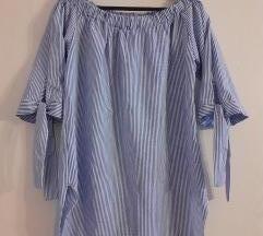 Ljetna haljina sa golim ramenima