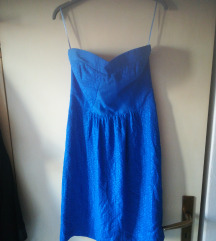 Korzet haljina 100 %svila