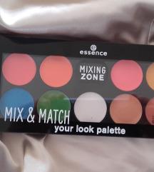Mix & Match Your Look Palette % Novo!