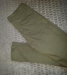 Maslinasto zelene hlače