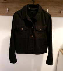 Crna traper jakna