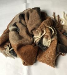 Nova šarena vunena pašmina