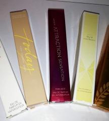 Mini edp parfemi., 1 za 20, 2 za 36, 3 za 50 kn
