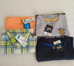 Dječje majice i košulje 4 kom-novo!!!