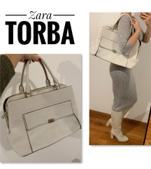 Zara bijela torba