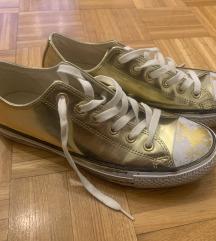 Converse All Star- zlatne