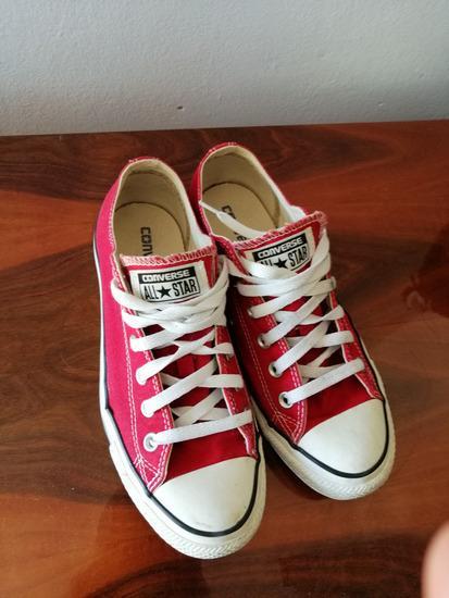 Crvene converse - starke - original - 39.5 broj!