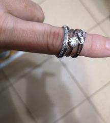 3 srebrna prstena za 150