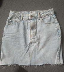 Jeans suknja + top