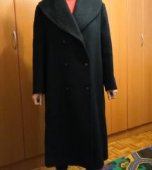 Kvalitetni ženski crni kaput