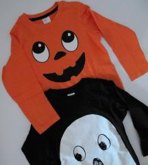 LOT - H&M Halloween majice vel. 86