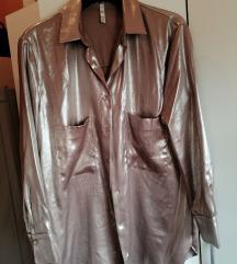 Zara srebrna košulja