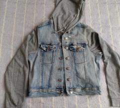Kratka jeans jakna S