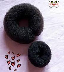 donut za kosu / pomagalo za puđu