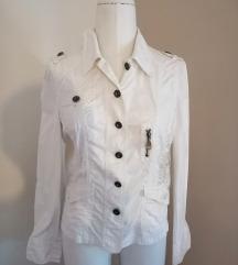 Bijela pamučna jakna
