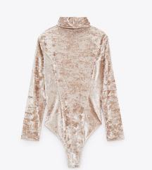 Novi Zara baršunasti body s etiketom