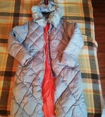 Duga, topla zimska jakna/parka, xl