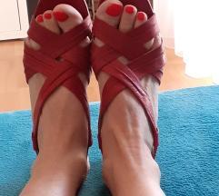 Caprice kožne sandale