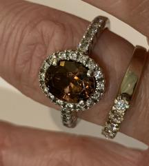 Vintage prsten, srebro, 925, DQCZ