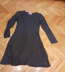 siva haljina vel s