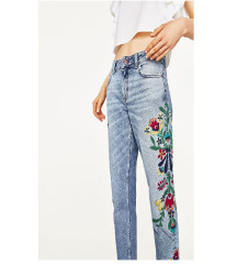 Zara Embroidered Traperice