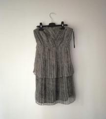 Zara haljina zmijskog uzorka