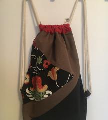 Vrećasti ruksak, šivano, novo